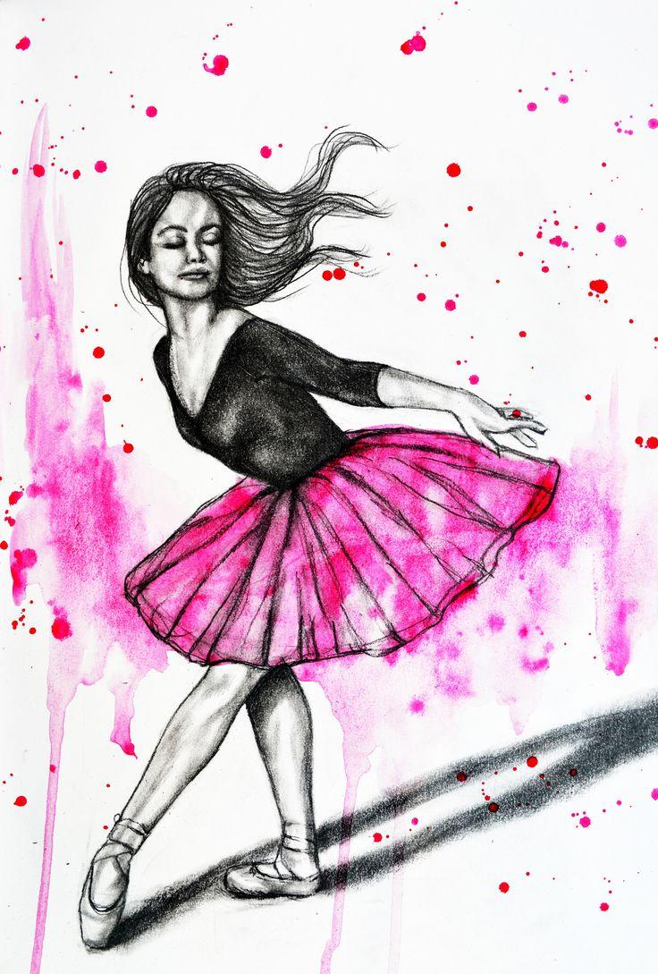 Dance sketch by Rachelle Dyer