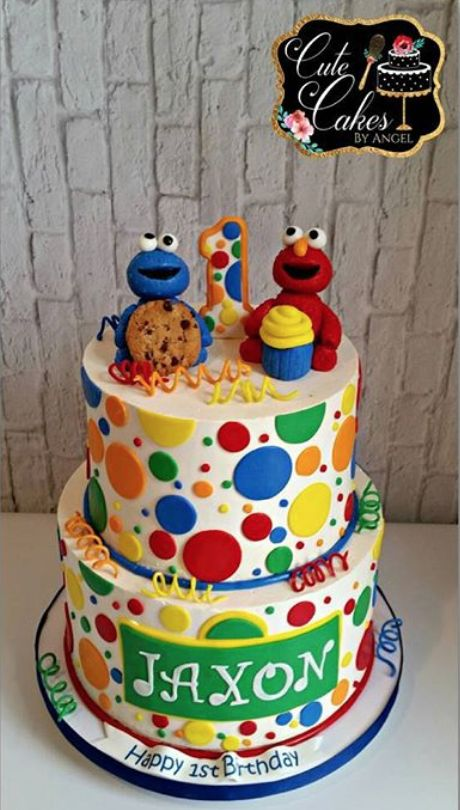 11 Adorable Sesame Street Birthday Cakes – Find Your Cake Inspiration  – Wyatt
