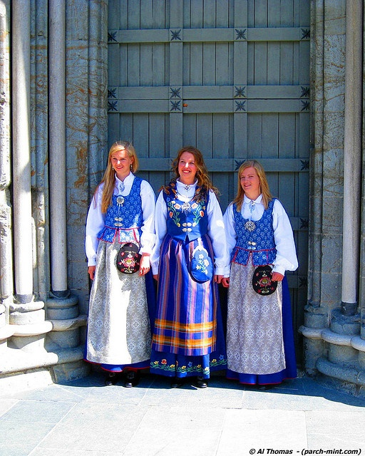 Traditional Dresses of Trondheim, Norway