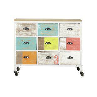 Multicoloured dresser cabinet ... - Ipanema