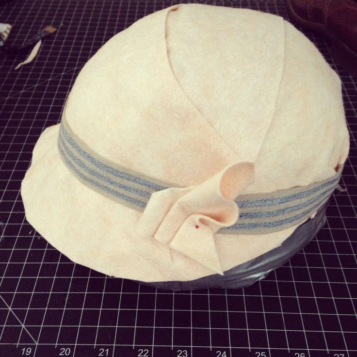 As a followup to my post on Making Your Own Dress Form , I've decided to share how I made my own duck tape  hat block. Now, I'd like to make...