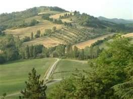 Countryside in Umbria, Italy