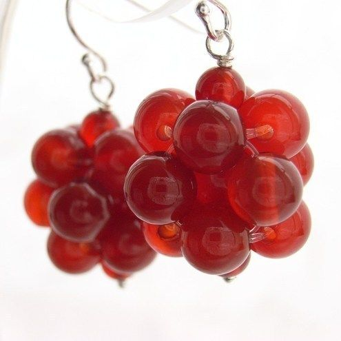 Blue Forest Jewellery's blog: Easy bead cluster (Easier than w/ jump rings)