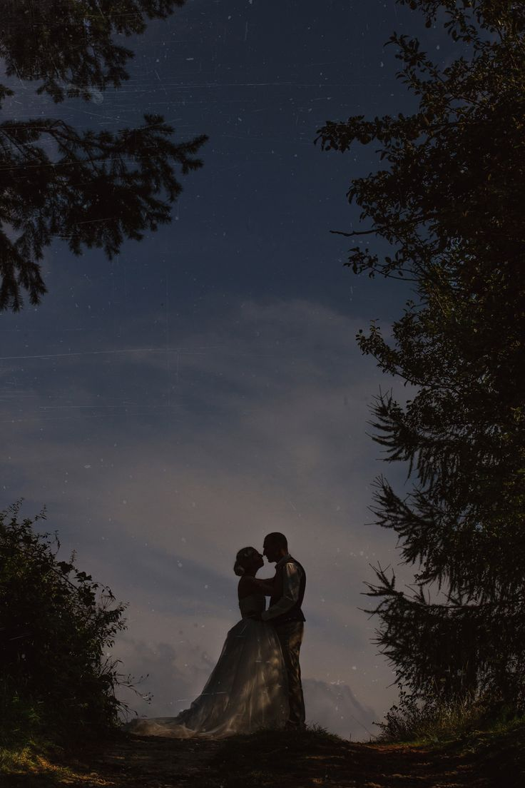 #wedding fairytale picture taken in a #bohemia forest