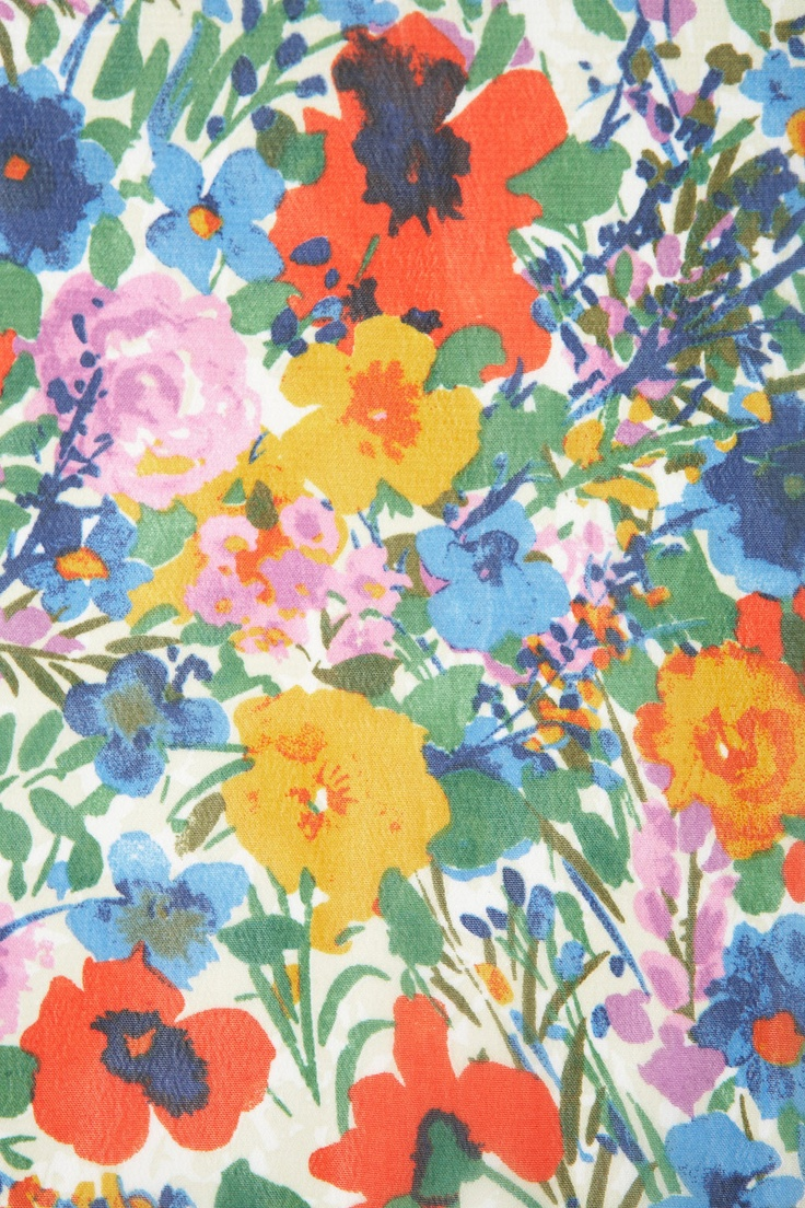 Floral print design by Topshop | textile | painted | digital fabric print