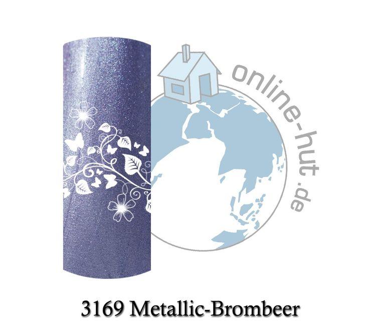 5ml Studio-Line UV Farbgel Metallic-Brombeer
