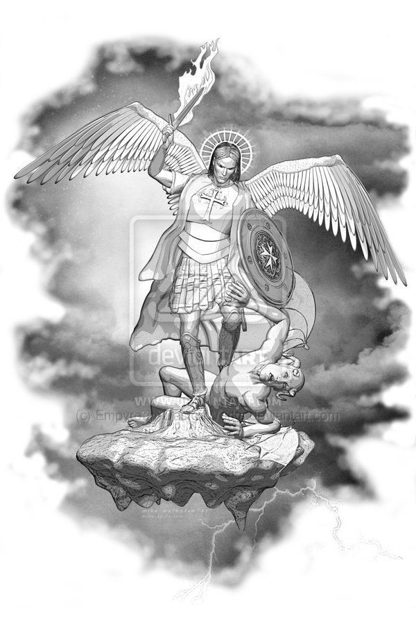 tattoo designs of st. michael - Поиск в Google