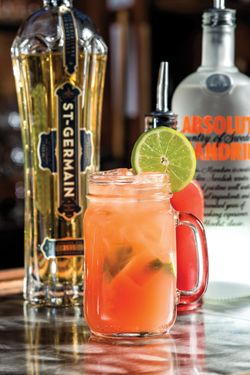 The New South Mandarin Mule is a refreshing cocktail of Absolut Mandarin, St. Germain, blood orange and ginger beer. Designed to pair perfectly with this summer's Southern cuisine.