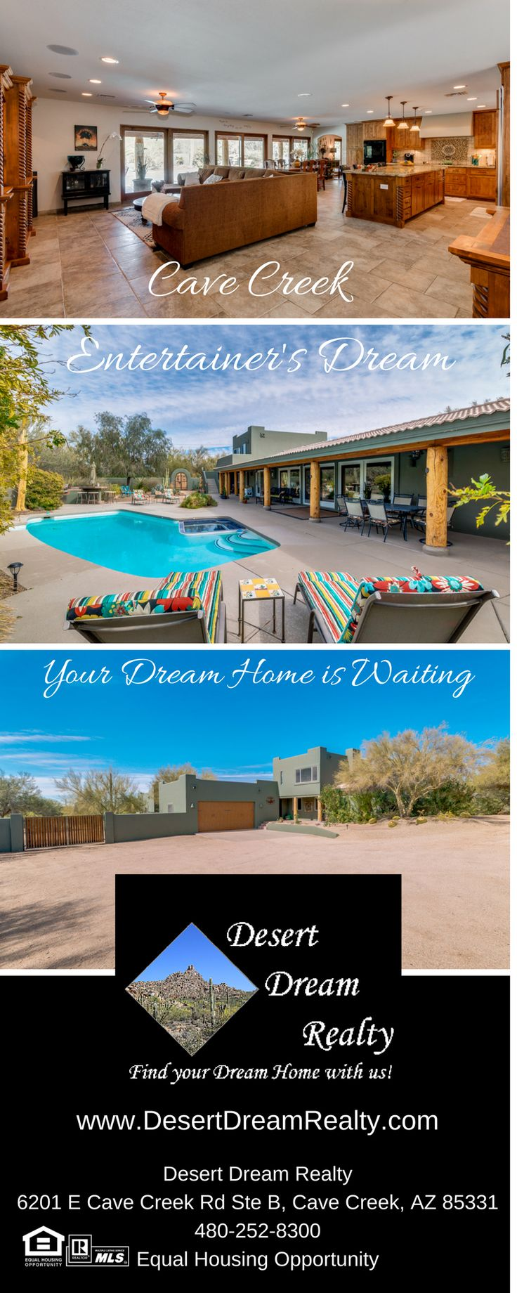 30250 N 66TH Street, Cave Creek, AZ 85331 - Desert Dream Realty - http://www.desertdreamrealty.com/listings/details/30250-n-66th-street-cave-creek-az/5726276/443228/ #desertdreamrealty #cavecreekhomesforsale #Cavecreekrealestate #cavecreekhorseproperty