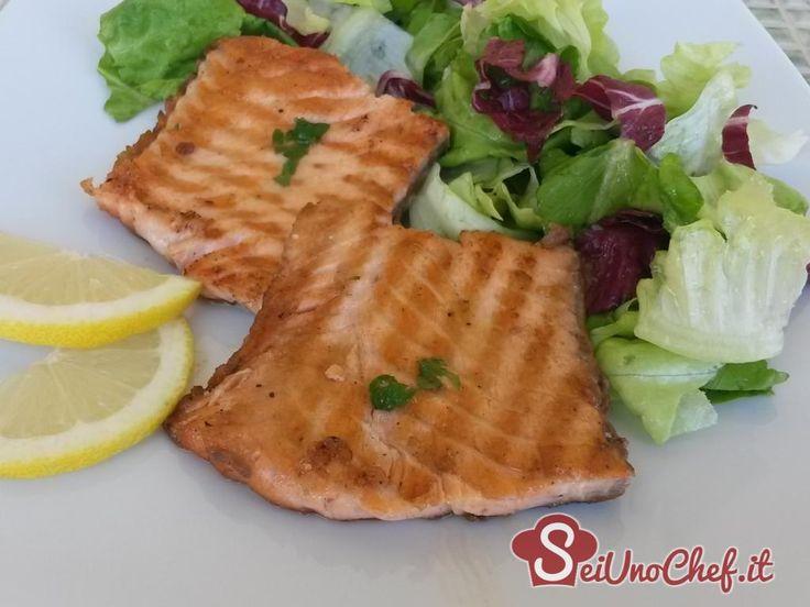 Salmone gratinato Gratin
