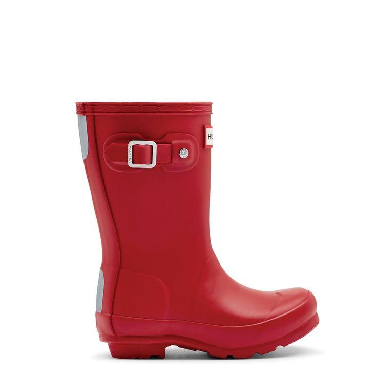 Childrens - Original Tall - Military Red – Hunter Boots Australia