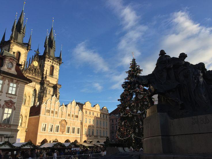 Vánoční trhy Staroměstské náměstí Praha