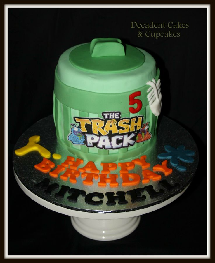 <3 Trash Pack Cake <3 Made By Decadent Cakes & Cupcakes