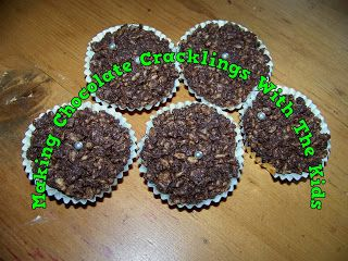 A Pretty Talent Blog: School Holiday Project: Making Chocolate Cracklings