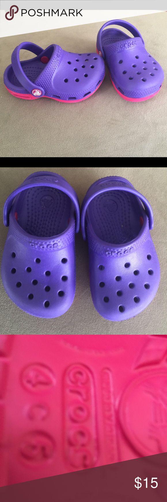 Toddler crocs size 3/4 Toddler crocs size 3/4 crocs Shoes Mules & Clogs