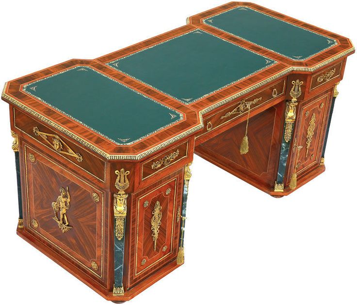 empire schreibtisch sekret r neu konsul bureau luxus schreibtisch m bel ebayeur. Black Bedroom Furniture Sets. Home Design Ideas