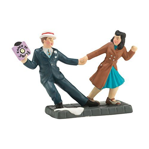 Department 56 Christmas in The City Village Swinging Downtown Accessory, 1.18-Inch *** Visit the image link more details. (This is an affiliate link)