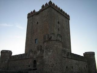 Castillo de Nogales. Badajoz. Spain