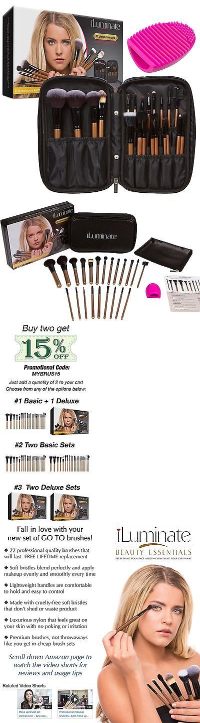 Brushes: 22Pc Professional Makeup Brush Set - Make Up Brush Set... Sephora Makeup Brushes BUY IT NOW ONLY: $49.12