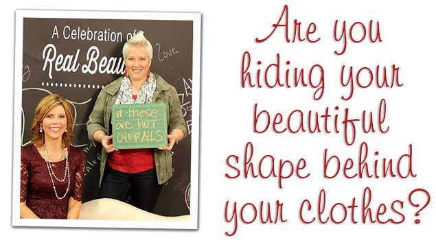 Why Do Women Hide Behind Their Clothing? From onegoodthingbyjillee.com #style: Bright Ideas, Good Things, Clothing Accessories Stuff, Things Great Ideas, Baggy Clothing, Dresses, Thinggreat Ideas, Beautiful Shape, Ball Beautiful