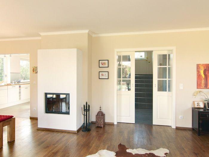 Innentüren – Röhrenspanstegtüren mit Türzarge und Drückergarnitur in Aluminium oder Edelstahl - ECO System HAUS