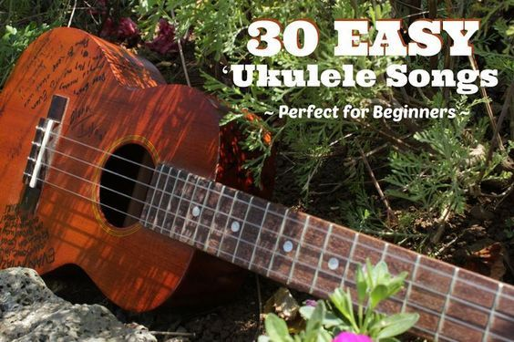 Learning to play ukulele? Here are 30 songs to get you started!       ♫  CLICK through to read more or save for later!  ♫