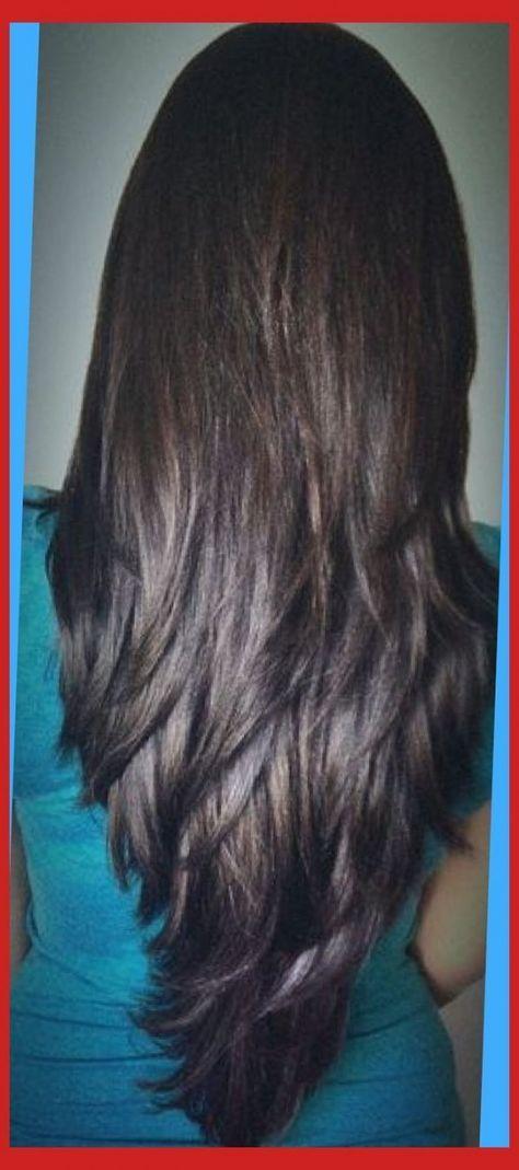 Long Layered V Cut Haircuts Front View Google Search Hair Hair