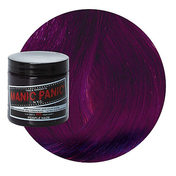 purple haze semi permanent cream hair color hair amp nails