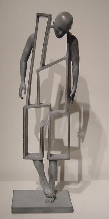 Sculpture...Meaningful...Michela#peuple de papier: Jean-louis Corby