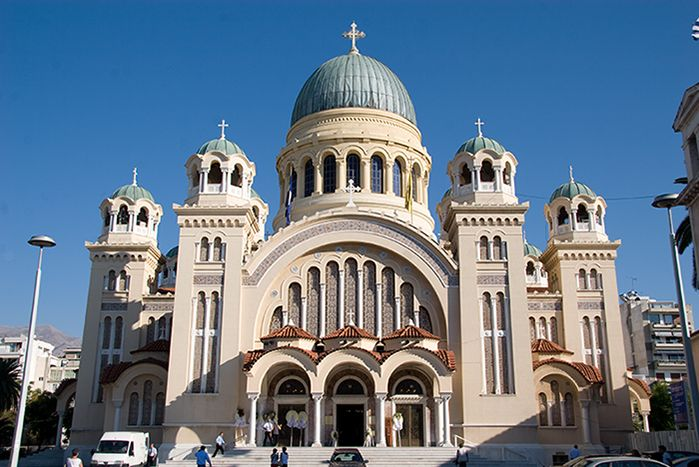 Cathedral of St. Andrew the Apostle Patras Greece