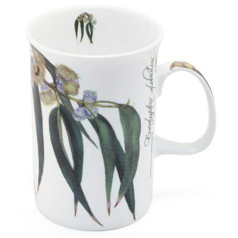Ashdene - Floral Emblems Blue Gum Mug | Peter's of Kensington