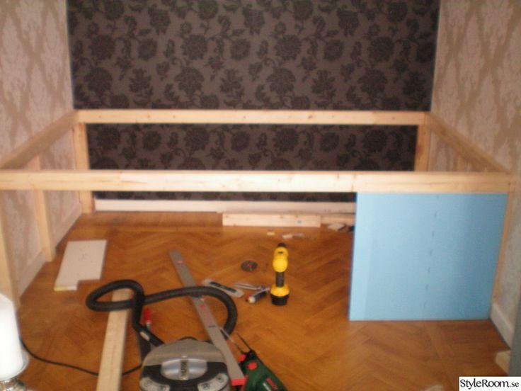 DIY-Bygga sängförvaring och sänggavel! - Ett inredningsalbum på StyleRoom av Therese_R