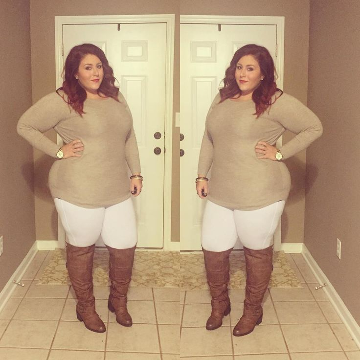 Plus Size Fashion - Shirt from target - Pants are no nonsense jeggings.  Boots from Ross