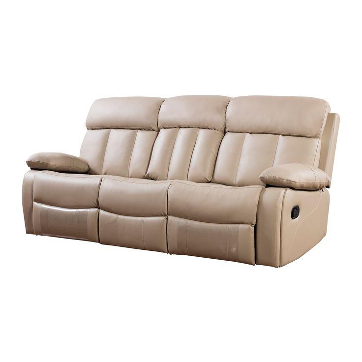 Sofa Table American Eagle Faux Leather Recliner Sofa