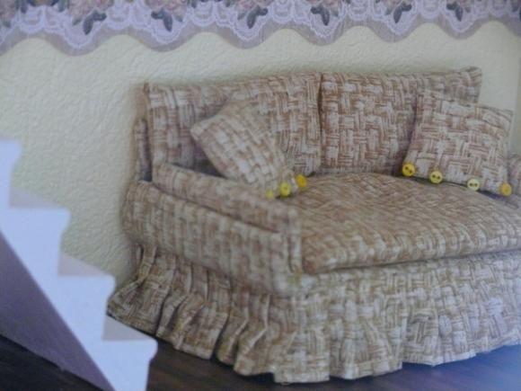 Диваное настроение - своим руками Фото кресла / Домики для кукол, мебель своими руками. Коляски, кроватки и другое / Бэйбики. Куклы фото. Одежда для кукол