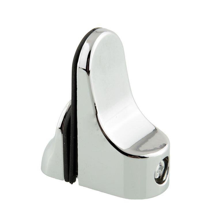 Estante de cristal de Metal Ajustable Soporte de Montaje En Placa De Vidrio Soporte Portador Abrazadera de Baño De Cromo Pulido