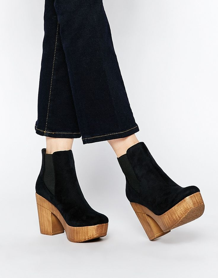 Truffle+Collection+Camari+Platform+Chelsea+Boots
