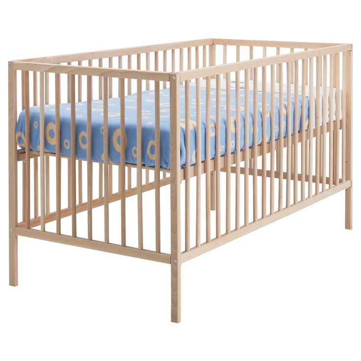 sniglar crib ikea cheaper option that could be painted and allow for more to spend on a better mattress bed base at two different heights