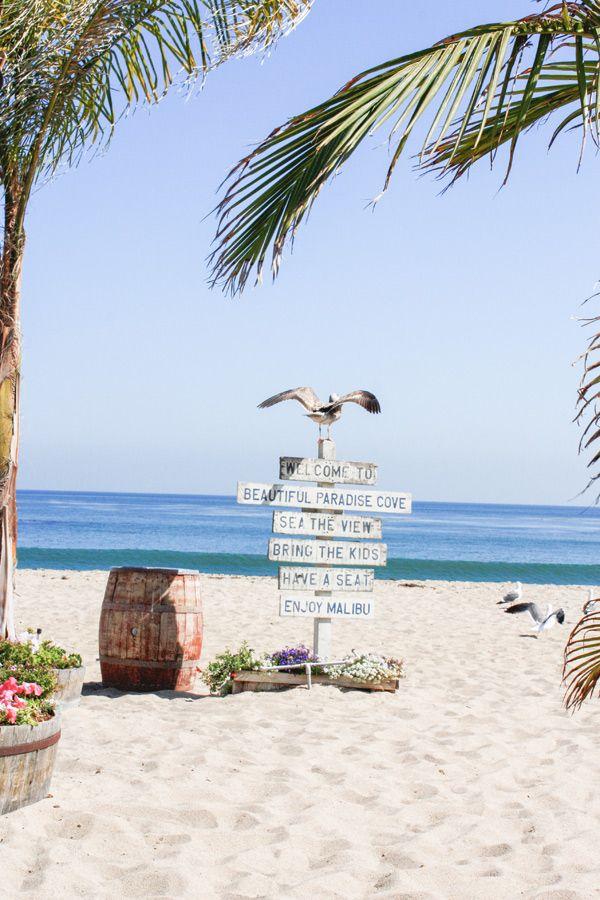 Malibu Beach #paradise #beautiful #beach #holidays