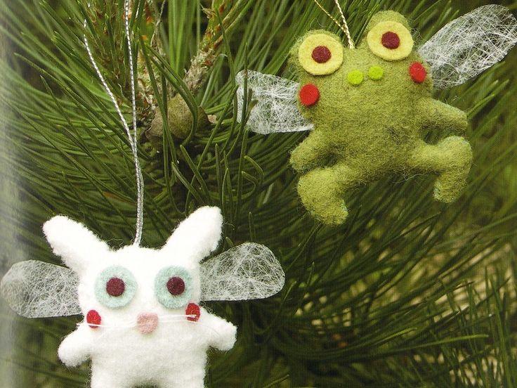 BRICOLAGE Noël : les anges animaux