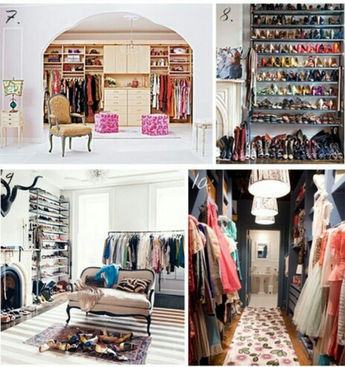 Closets More Yummy Drooooooooool The Closet Boudior And Walk In Wardrobe