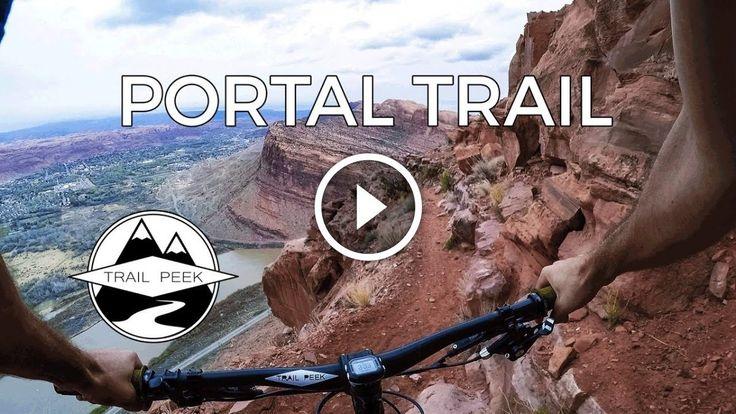 "Watch: ""Don't Look Down!"" - Mountain Biking the Portal Trail in Moab, Utah - Singletracks Mountain Bike News"