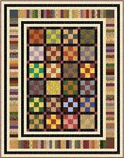 "ZEALOUSLY - 83.5"" x 65.5"" - Quilt-Addicts Precut Patchwork Quilt Kit Single Size"