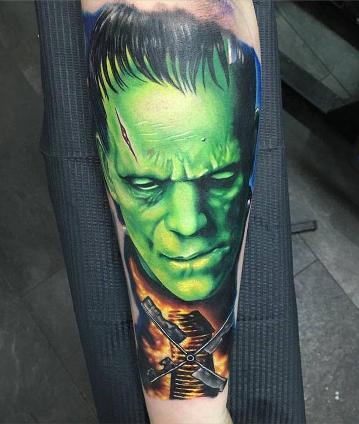 1000+ ideas about Frankenstein Tattoo on Pinterest | Black ...  1000+ ideas abo...