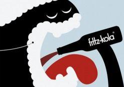 fritz-kola. weihnachtsposter
