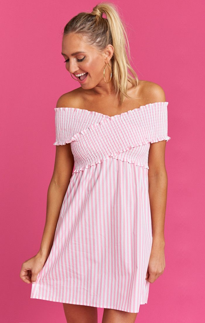 fa871a91e3ed1c The Mandy Smocked Dress is super girly and super fun! She brings us back to  the 90 s with her scrunched