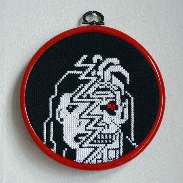 From #Teletext to #Crossstitch / Monster Girl
