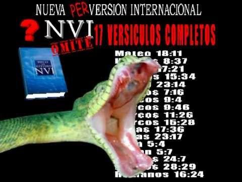 APOSTASIA DE LA BIBLIA NVI VOL 4 BIBLIA NVI GEY - YouTube