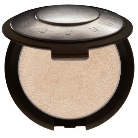 BECCA Shimmering Skin Perfector™ Pressed in Moonstone a must-have pale gold highlighter.