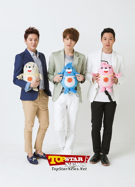 JYJ for Asian Games 2014 (this photo was took on May 2013)
